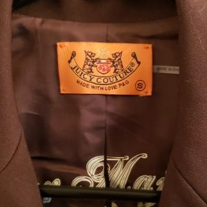 Juicy Couture Jackets & Coats - Women's Brown Juicy Couture Blazer Small